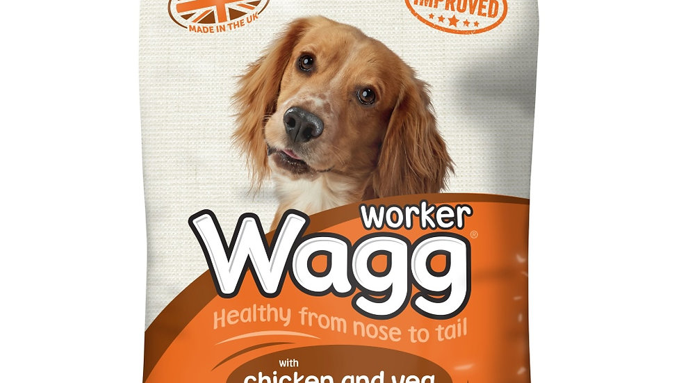 Wagg Complete Worker with Chicken 12kg