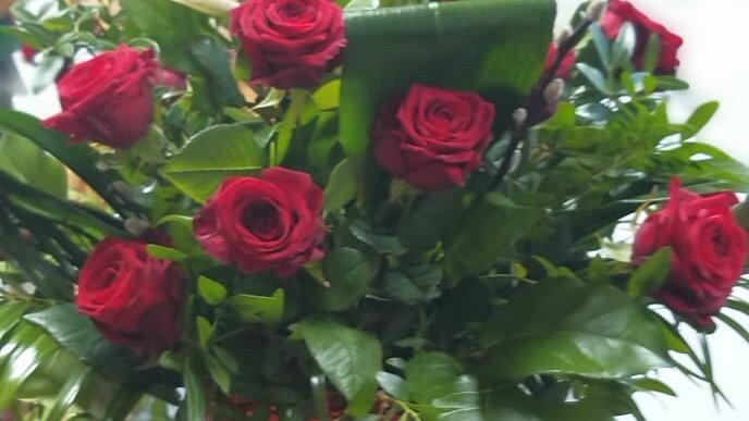 Luxury rose arrangement