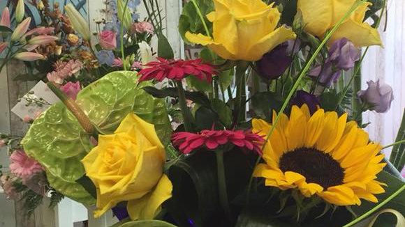 Front Facing Bouquet