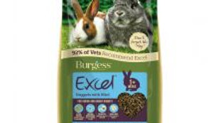 Burgess Junior & Dwarf rabbit Nuggets With Mint 10kg