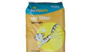Bestpets Cat Litter Lightweight 30ltr