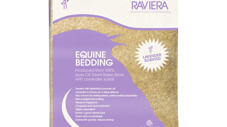 Raviera Straw Bedding With Lavender 20kg