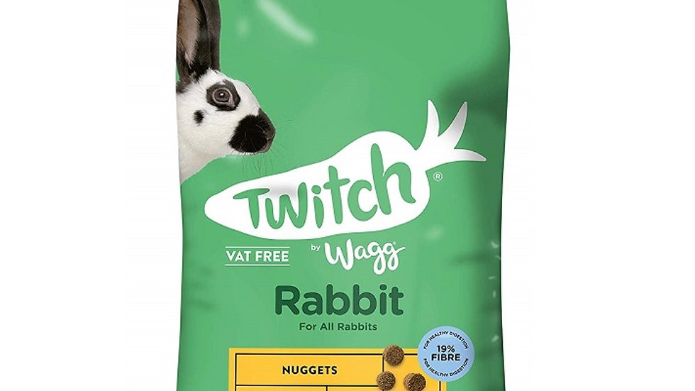 Wagg Twitch Rabbit Food - 10kg (Formerly Wagg Bunny Brunch)