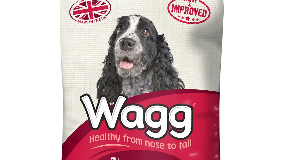 Wagg Complete With Beef & Vegetables 12kg