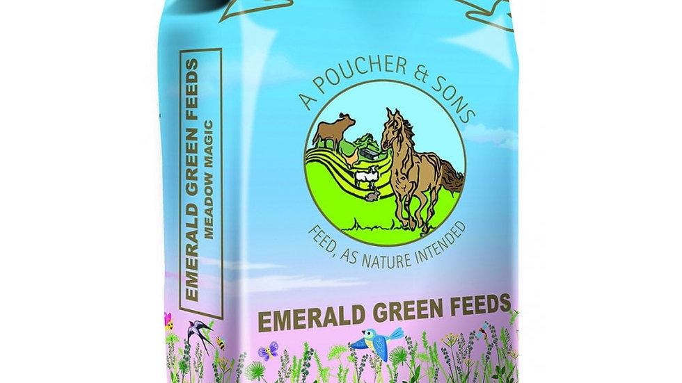 Emerald Green Meadow Magic Pellets