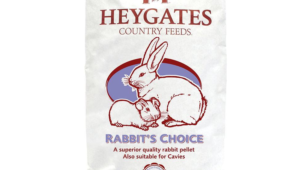 Heygates Rabbit Choice Pellets 20kg