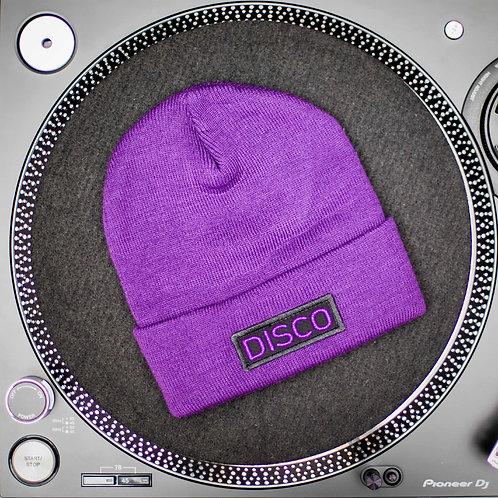 Purple Beanie - Disco Edition