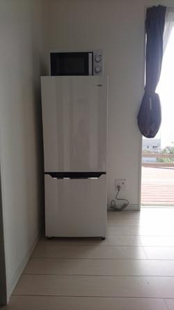 冷蔵庫 完備