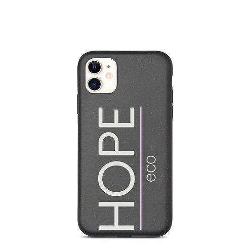 HOPE eco classic grey large Biodegradable phone case