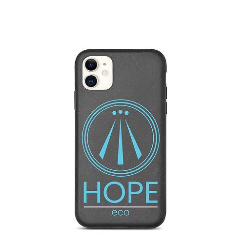 HOPE eco Awen blue Biodegradable phone case