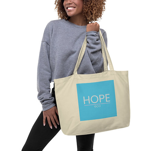 HOPE classic Large organic tote bag