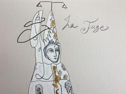 La Juge (detail)
