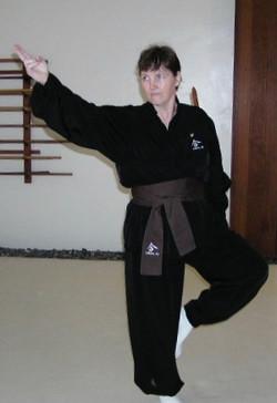 Linda Hill in Narrow Blade Jian.