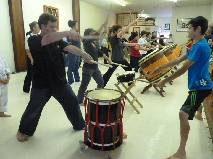 Taiko workshop.