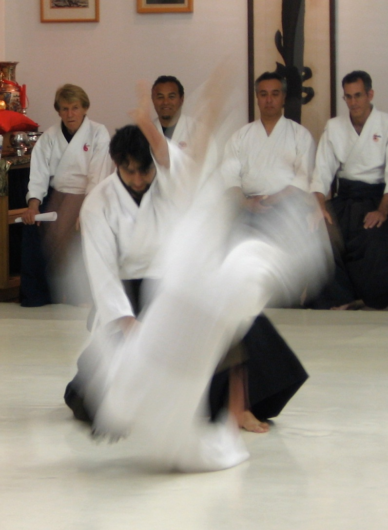 Aikido exam.