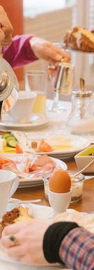 Ein ausgiebiges Frühstück am Morgen gibt Kraft für den Tag!
