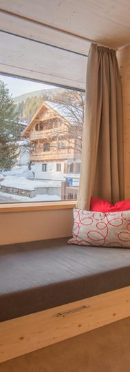 Unsere Couchen lassen sich meist zu einem zusätzlichen Bett umfunktionieren