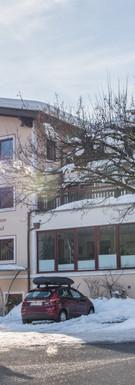 Unser Haus Dschulnigg im Winter