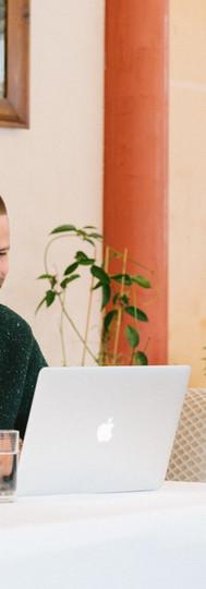 Eine gute WLAN-Verbindung macht es auch möglich, bei uns Arbeit und Urlaub zu kombinieren