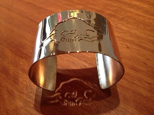 Bronze Altamira Bison Bracelet