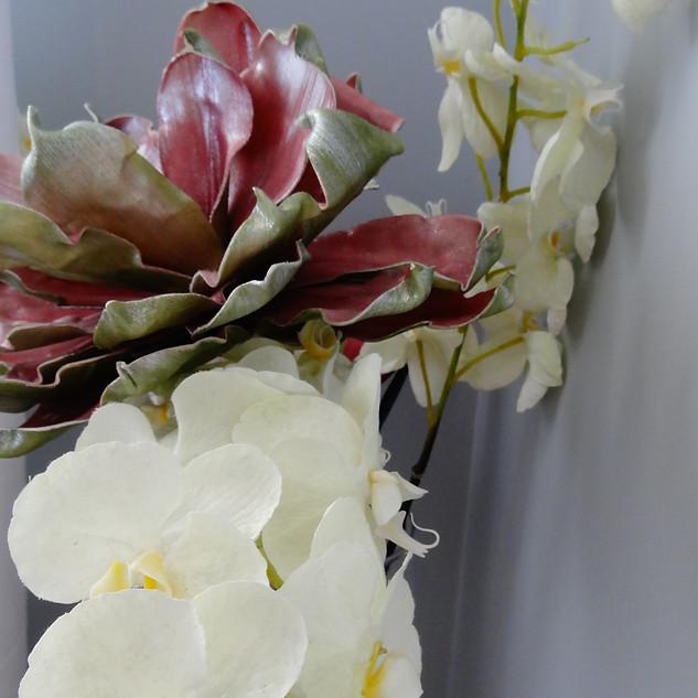 Sypialnia - kwiaty