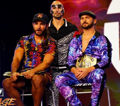 AEW Power Rankings I Tag Team Division I August 22nd