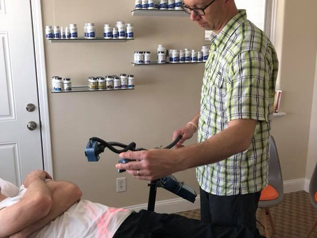 Lawrence Chiropractor discusses Cold Laser Therapy.
