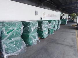 Donación de camas y colchones para Hospitales Foto 3b.JPG