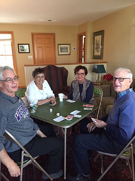 Table Talkers Euchre - with Ken, Pat, No