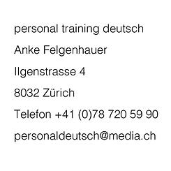 Kontakt_Contact_personal training deutsch