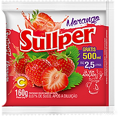 Refresco Sullper morango