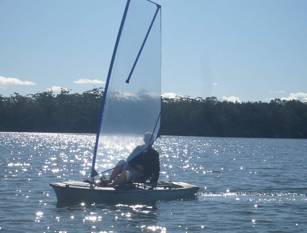 High Performance Kayak Sails