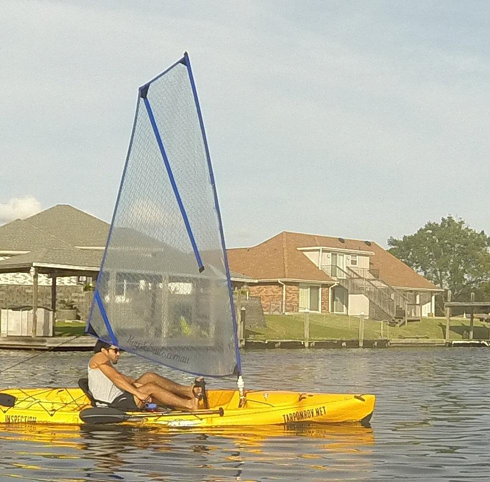 High Performance Kayak Sails