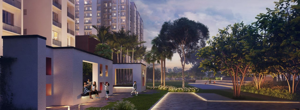 2 BHK starts @ 58.89 Lakhs* (All Inclusive with 1 CP) - 25:75 payment plan