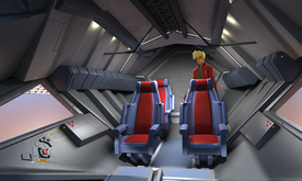 Firebreather Flyer cockpit