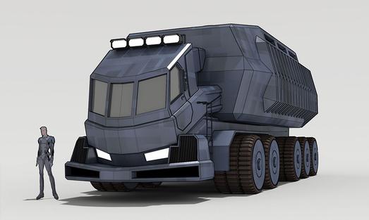 Firebreather Truck