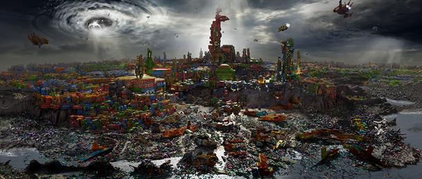 Sakaar wasteland concept