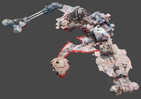 Guardians of the Galaxy-Landing Platform