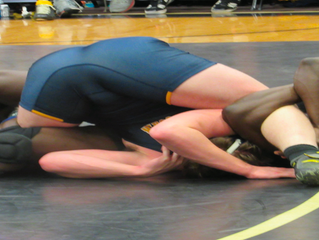 Wrestling Strikes Down Coker Cobras 33-12
