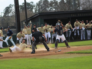 Baseball Goes 2-1 in Conference Clash with Columbus State
