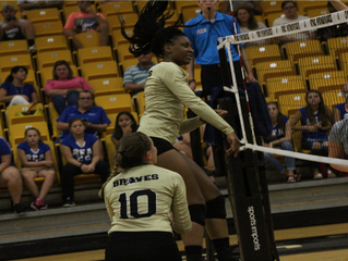Volleyball Showcases Young Talent in 3-0 Victory Over Hawks
