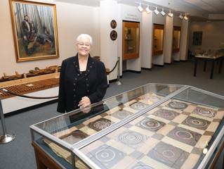 Quilt Sewn by Henry Berry Lowrie's Daughter Donated to UNCP Museum