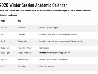 Four-week Winter Term: No Time to Chill