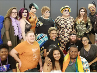 Famous Drag Queen Graces UNCP at the Dragsquerade