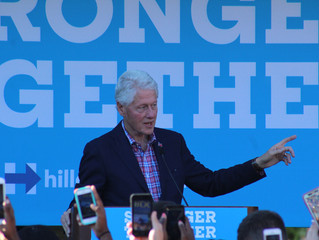 Clinton Tour Makes Stop at UNCP