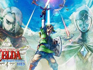 Link Flies Through Skyloft Once Again on the Switch