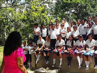 UNCP Student Works to Educate Kids in Honduras