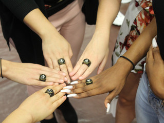 Swimming Receives Championship Rings