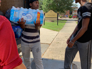 ENACTUS Collaborates with CARE Resource Center to Provide Aid to Those Impacted by Hurricane Florenc