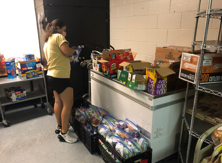 CARE Assists Housing and Residence Life to Feed Students in Quarantine